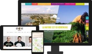 Création site internet mobile et grand écran