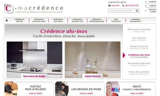 Site C-macrédence par Aire Libre, version desktop