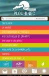 Site Ville de Plouhinec par Aire Libre, version mobile