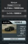 Site Auto-cars par Aire Libre, version mobile