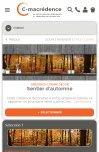 Site C-macrédence par Aire Libre, version mobile