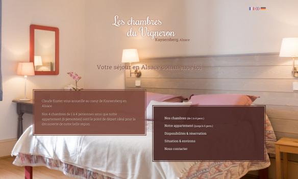 Les Chambres du Vigneron